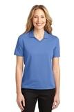 Women's Rapid Dry Polo Shirt Riviera Blue Thumbnail