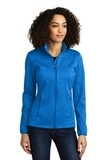Women's Eddie Bauer StormRepel Soft Shell Jacket Brilliant Blue Heather with Grey Thumbnail