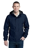 Eddie Bauer Rain Jacket River Blue Navy Thumbnail