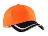 Safety Cap Safety Orange with Black Thumbnail