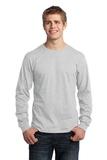 Long Sleeve 5.4-oz. 100 Cotton T-shirt Ash Thumbnail