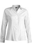 Women's No-iron Stay Collar Dress Shirt White Thumbnail