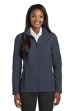 Women's Collective Soft Shell Jacket River Blue Navy Thumbnail