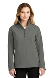Women's The North Face Tech Stretch Soft Shell Jacket Asphalt Grey Thumbnail