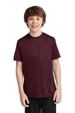 Youth Essential Performance Tee Athletic Maroon Thumbnail