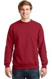 Comfortblend Crewneck Sweatshirt Deep Red Thumbnail