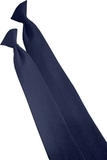 22 Clip-on Poly Tie Navy Thumbnail