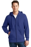 Super Heavyweight Full-zip Hooded Sweatshirt Royal Thumbnail