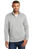 Performance Fleece 1/4Zip Pullover Sweatshirt Silver Thumbnail