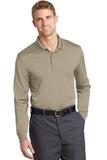 Select Snag-Proof Long Sleeve Polo Tan Thumbnail