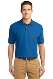 Extended Size Silk Touch Polo Shirt Strong Blue Thumbnail