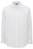 Edwards Men's Batiste Dress Shirt White Thumbnail