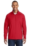 Sport-wick Stretch 1/2-zip Pullover True Red Thumbnail