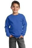 Youth Crewneck Sweatshirt Royal Thumbnail