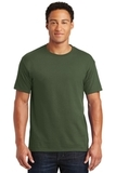 50/50 Cotton / Poly T-shirt Military Green Thumbnail