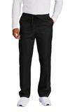WonderWink Unisex Short WorkFlex Cargo Pant Black Thumbnail