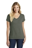 Women's Made Perfect Blend V-Neck Tee Heathered Olive Thumbnail