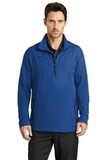 Nike Golf 1/2-zip Wind Shirt Gym Blue with Black Thumbnail