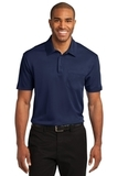 Silk Touch Performance Pocket Polo Navy Thumbnail