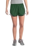 Women's Cadence Short Forest Green with White and Black Thumbnail