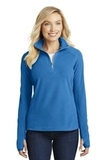 Women's Microfleece 1/2-zip Pullover Light Royal Thumbnail