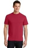 50/50 Cotton / Poly T-shirt Red Thumbnail