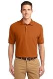 Extended Size Silk Touch Polo Shirt Texas Orange Thumbnail