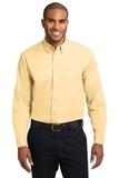Long Sleeve Easy Care Shirt Yellow Thumbnail