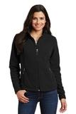 Women's Value Fleece Jacket Black Thumbnail