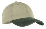 2-tone Pigment-dyed Cap Khaki with Hunter Thumbnail