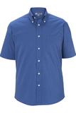 Men's Pinpoint Oxford Shirt SS French Blue Thumbnail