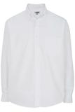 Men's Easy Care Poplin Shirt LS White Thumbnail