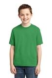 Youth 50/50 Cotton / Poly T-shirt Kelly Thumbnail