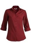 Women's Batiste 3/4 Sleeve Burgundy Thumbnail