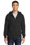 Tall Ultimate Full-zip Hooded Sweatshirt Jet Black Thumbnail