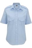 Women's Short-sleeve Navigator Shirt Blue Thumbnail