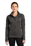 Women's The North Face Mountain Peaks Full-Zip Fleece Jacket Asphalt Grey Thumbnail