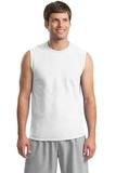 Ultra Cotton Sleeveless T-shirt White Thumbnail