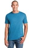 Softstyle Ring Spun Cotton T-shirt Heather Sapphire Thumbnail