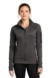 Women's The North Face Mountain Peaks Full-Zip Fleece Jacket Asphalt Grey Thumbnail