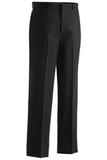 Men's Poly / Wool Flat Front Pant Black Thumbnail