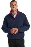 Legacy Jacket Dark Navy with Red Thumbnail