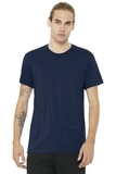 BELLACANVAS Unisex Jersey Short Sleeve Tee Navy Thumbnail
