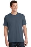 5.5-oz 100 Cotton T-shirt Steel Blue Thumbnail