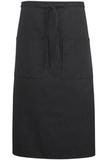 Bistro Apron 2 Pocket Black Stripe Thumbnail