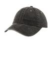 Women's Garment-washed Cap Black Thumbnail