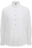 Men's Wing Collar Tuxedo Shirt White Thumbnail