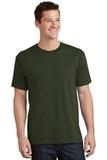 5.5-oz 100 Cotton T-shirt Olive Thumbnail