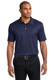 Performance Fine Jacquard Polo Shirt True Navy Thumbnail