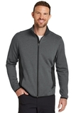 Eddie Bauer Full-Zip Heather Stretch Fleece Jacket Dark Charcoal Heather Thumbnail